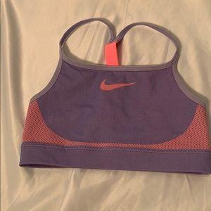 Girls Nike Sports Bra Size Medium